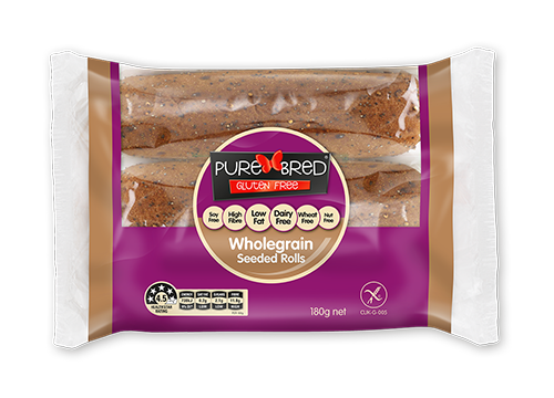 Purebred is a low-FODMAP bread brand in Australia